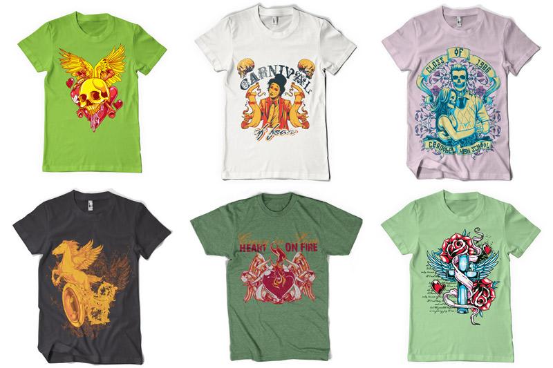 100 T-shirt Designs Vol 2 example image 3