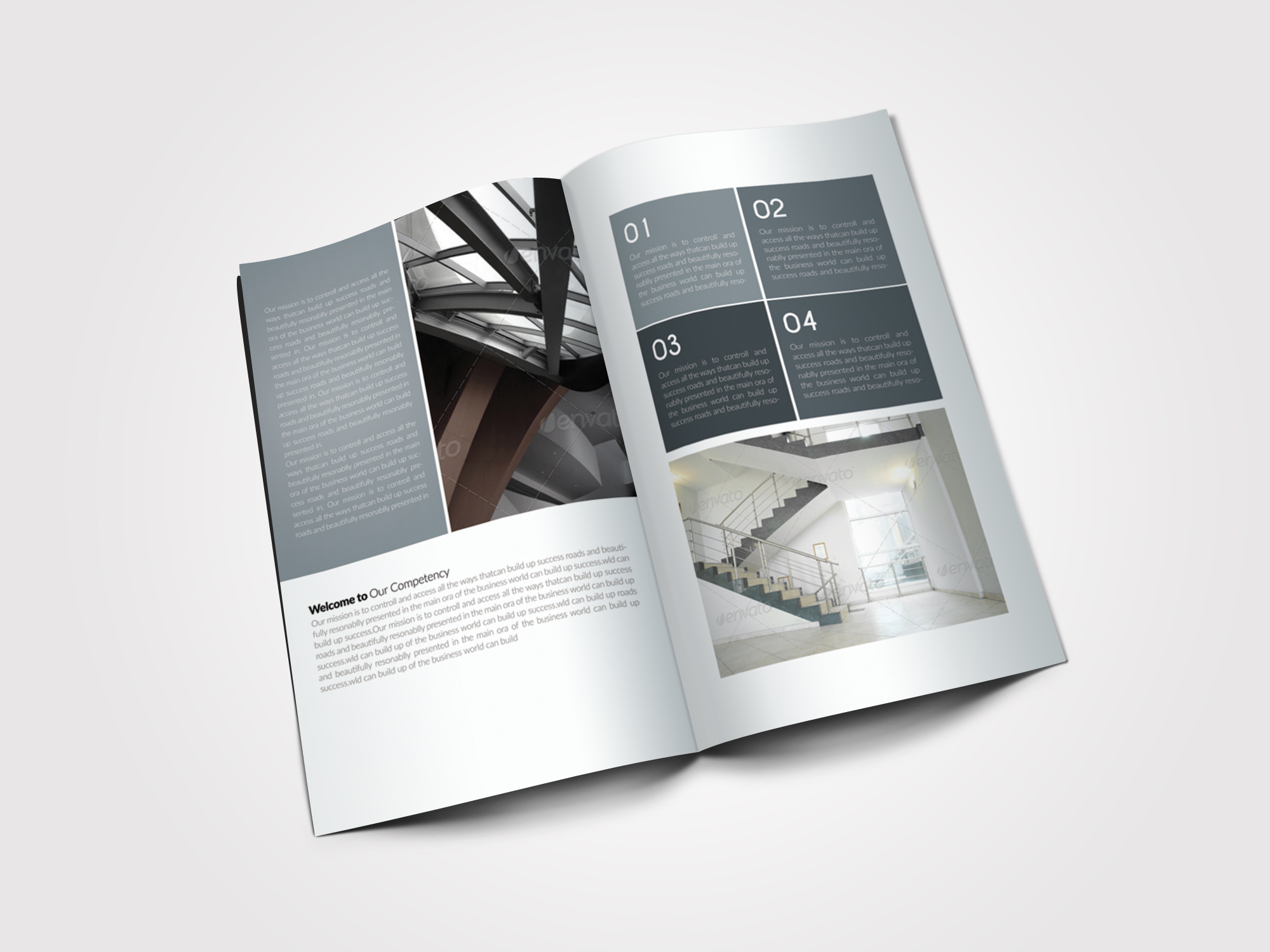 10 Pages Business Bifold Brochure example image 3