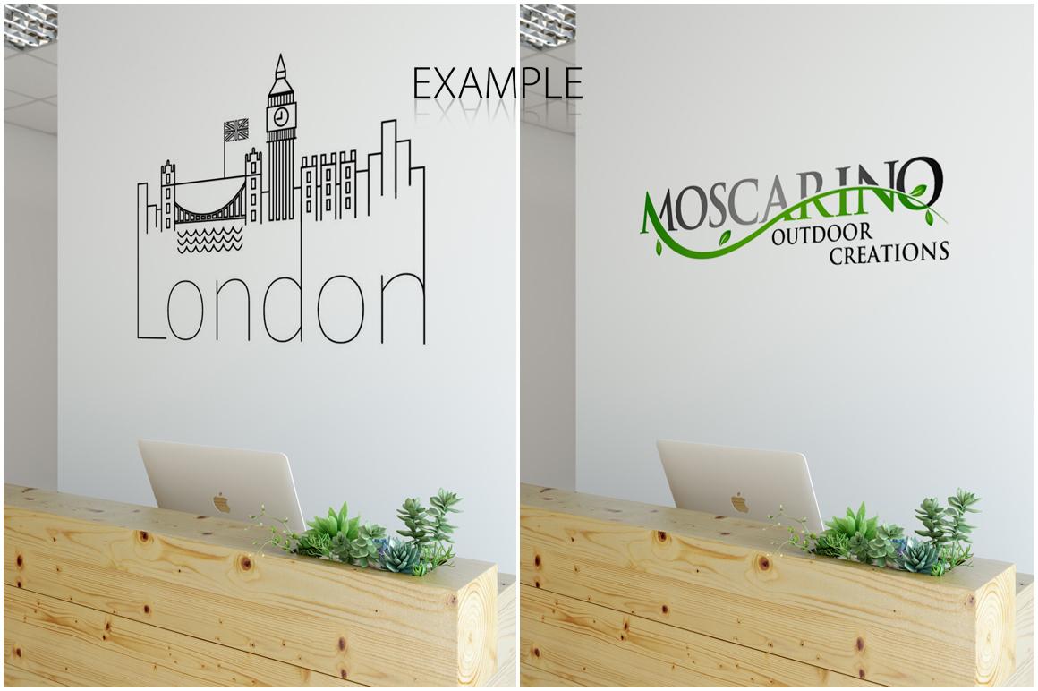 OFFICE Wall Mockup Bundle example image 4
