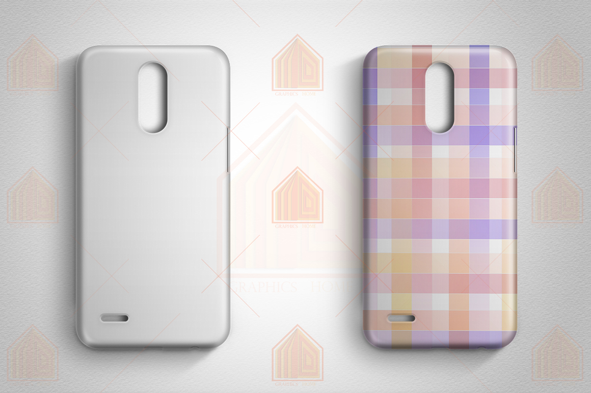 LG K10 2017 Case Design Mockup Back View example image 4