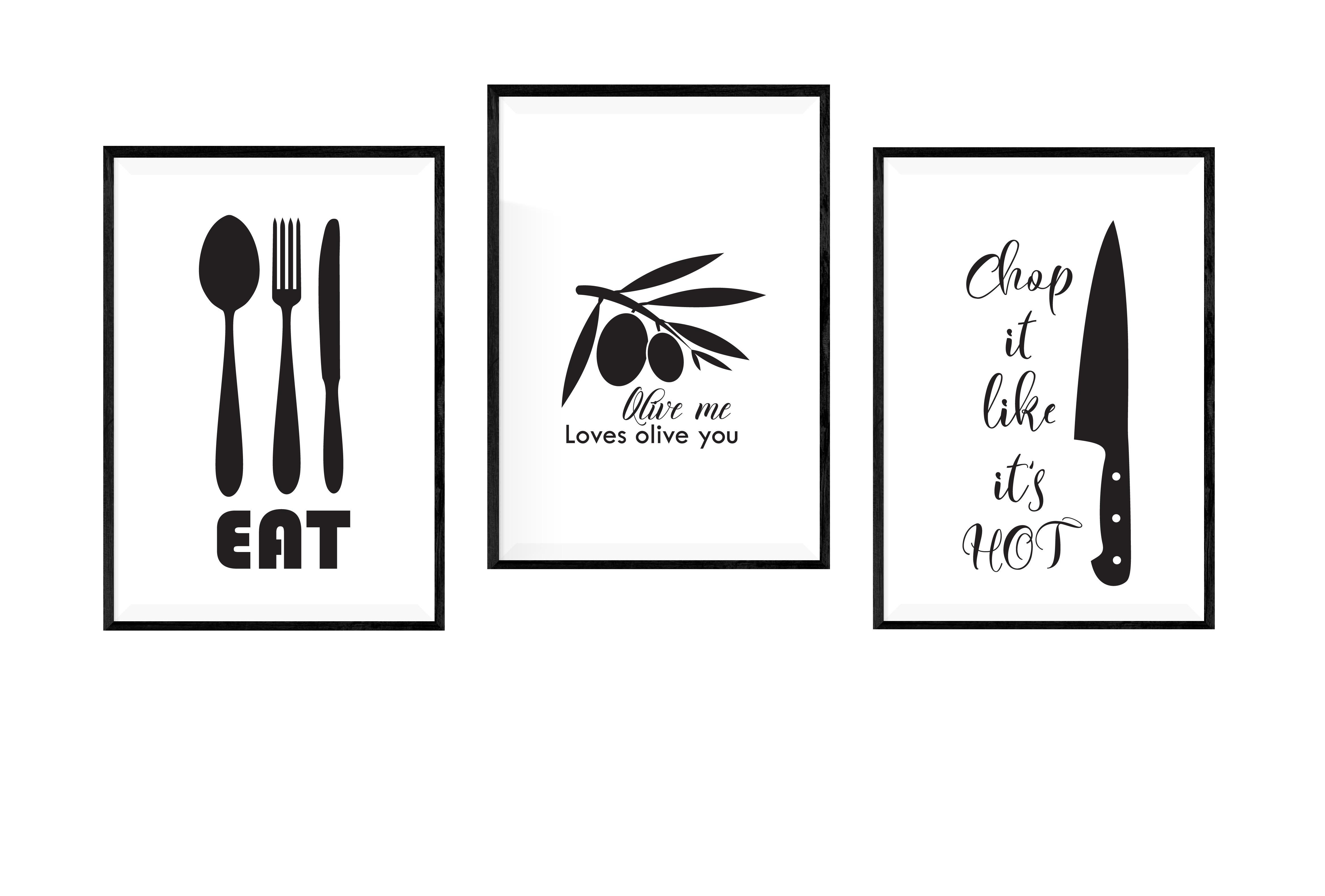 Kitchen SVG Bundle, Kitchen Towel Designs example image 4