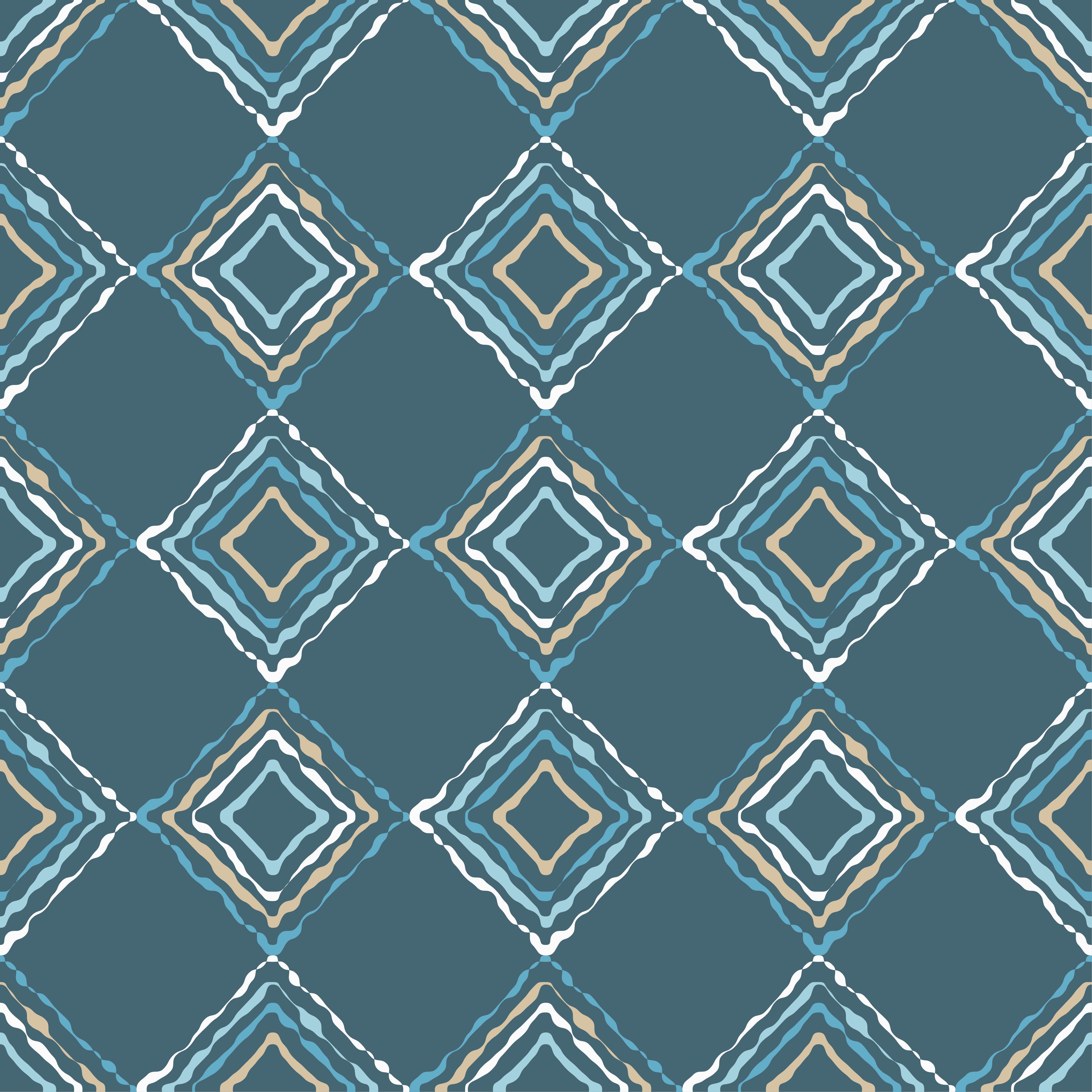 6 Ethnic boho seamless pattern. Scribble texture. Retro motif. example image 5