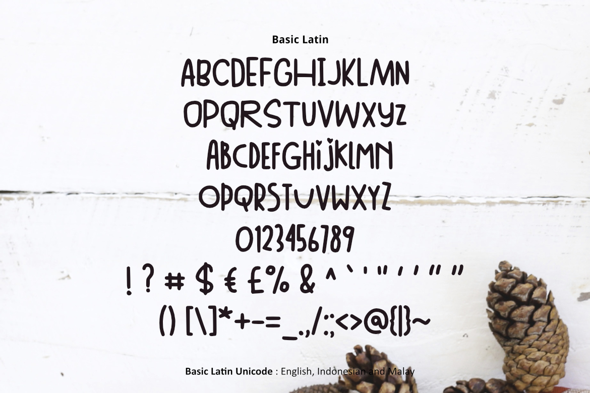 Winter Day Font example image 2