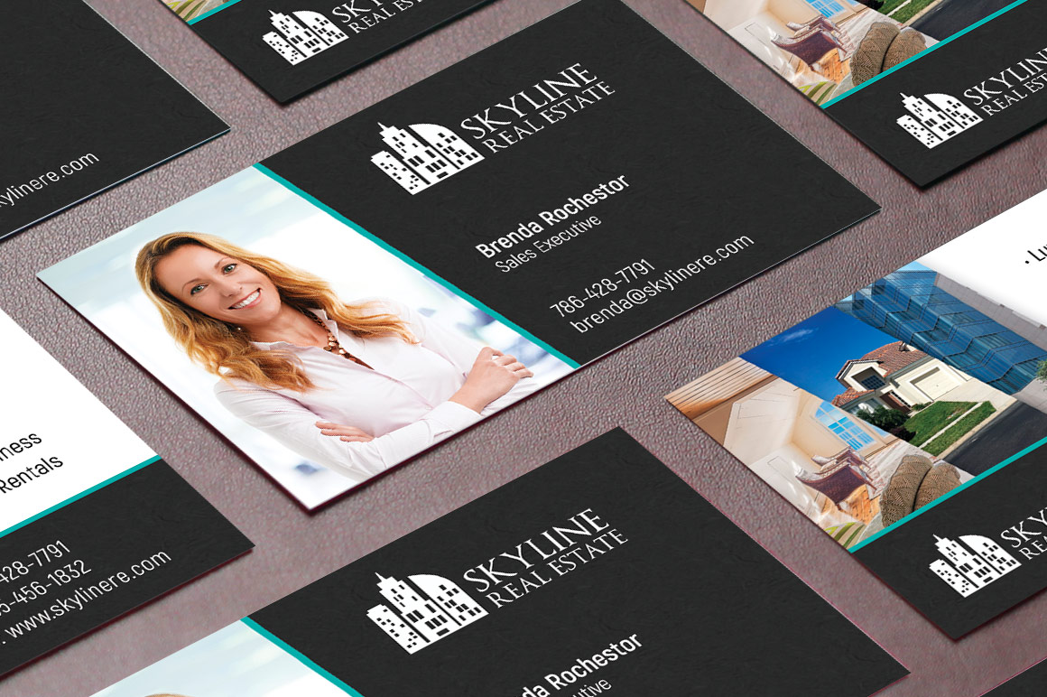 Real Estate Business Card Template example image 3