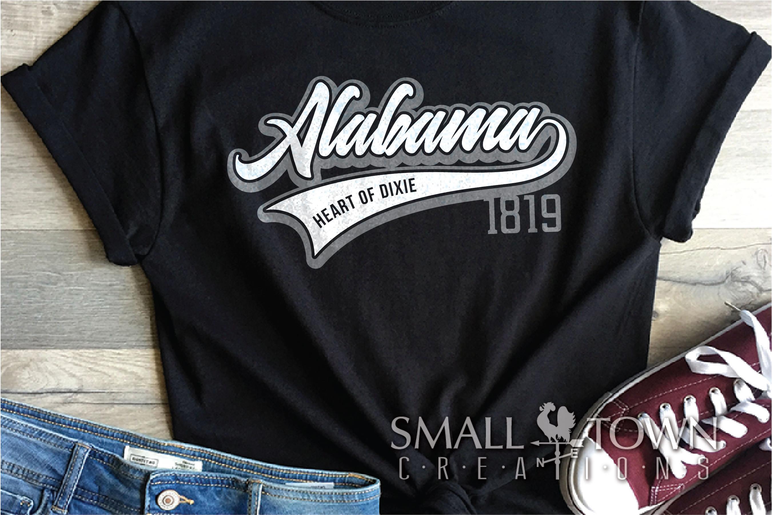 Alabama, Bundle, Heart of Dixie, Logo, PRINT, CUT & DESIGN example image 2
