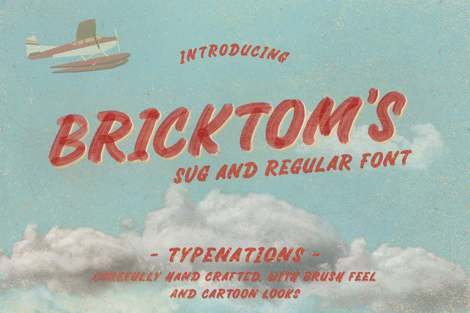 Bricktoms SVG & REGULAR example image 1