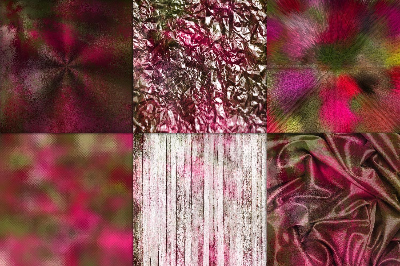 Spring Bloom Textures Digital Paper example image 2