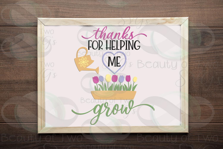 Teacher gift svg & png, teacher appreciation svg, grow svg example image 1