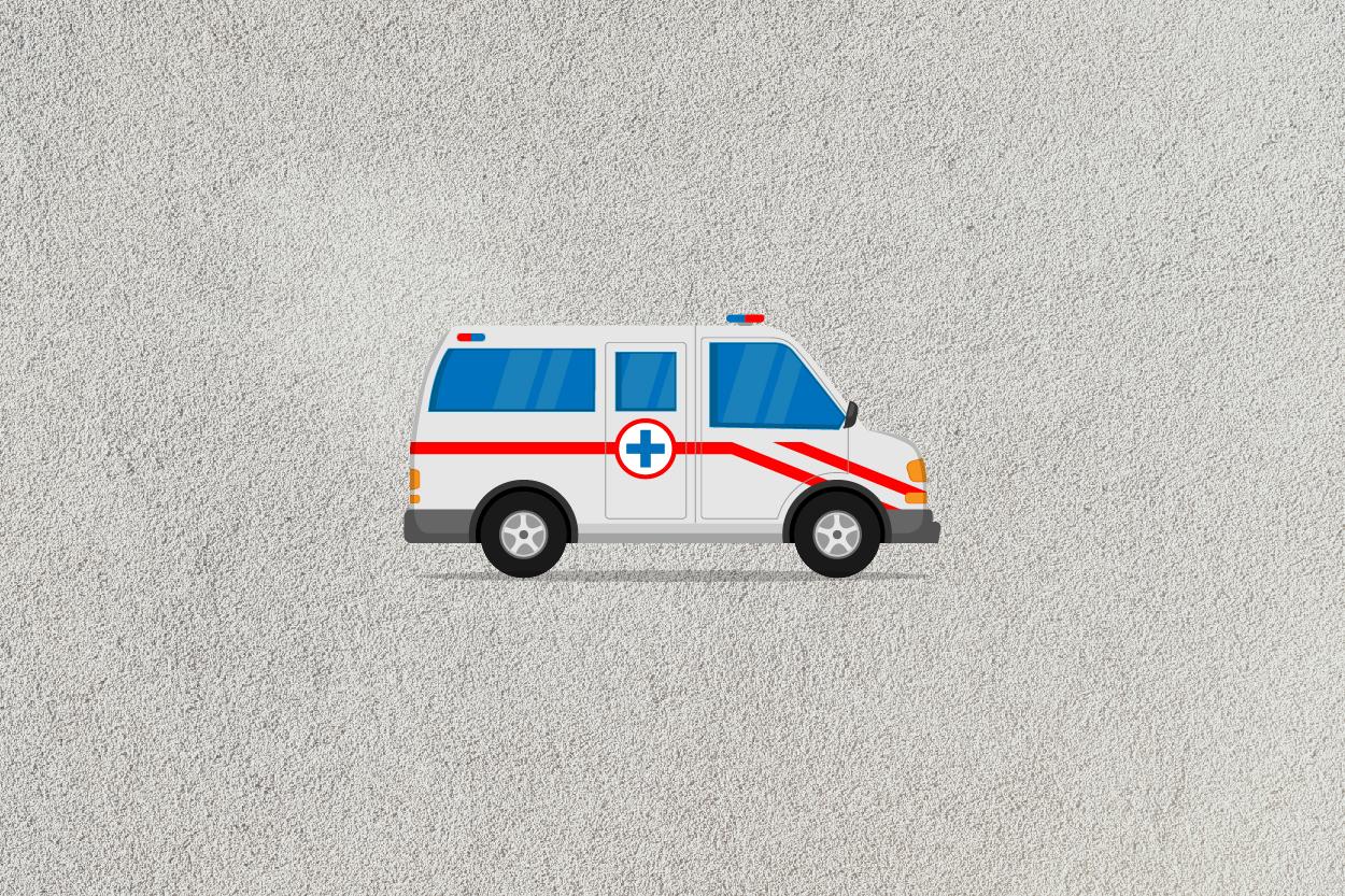 ambulance car icon example image 4