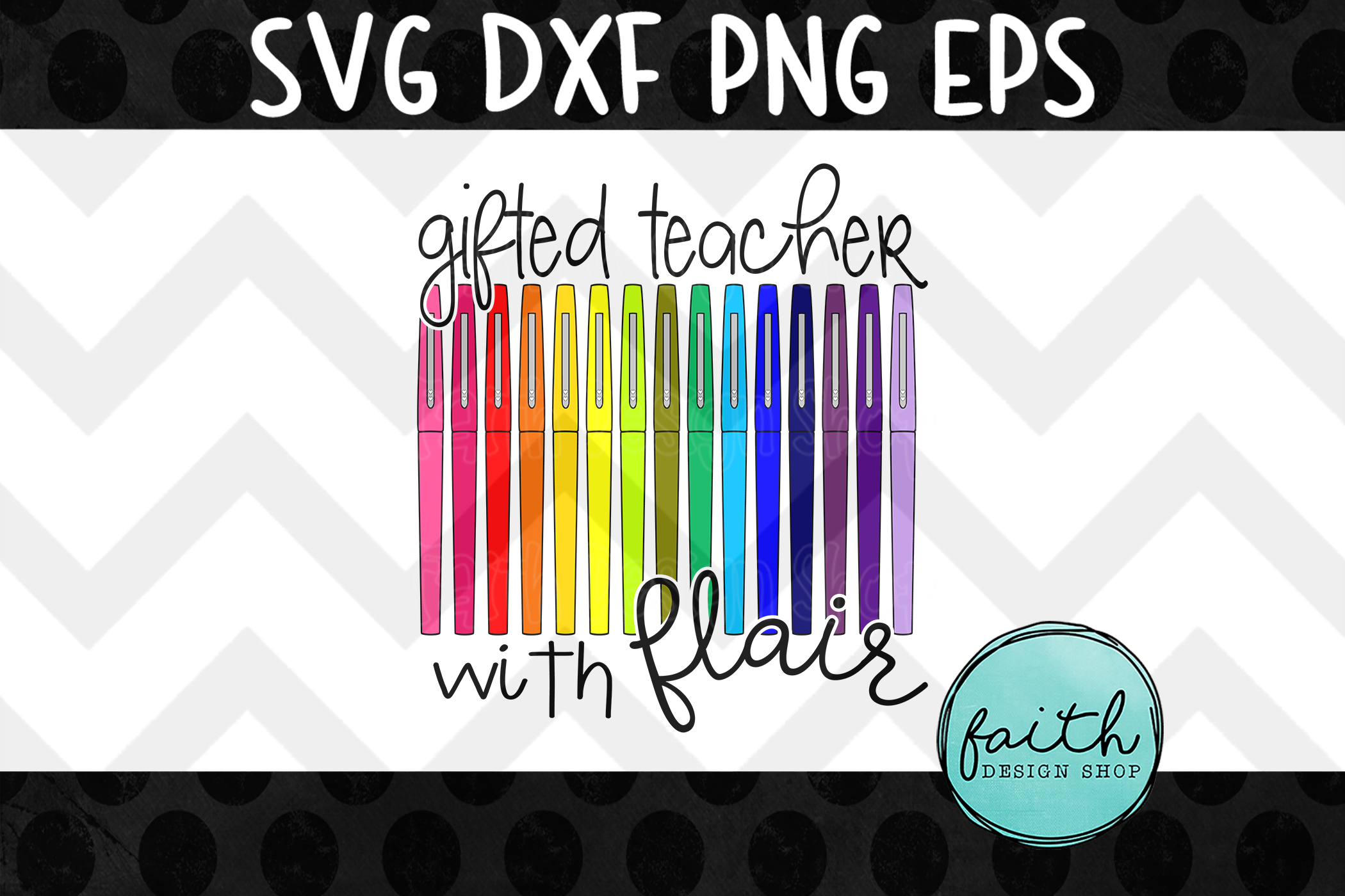 Gifted Teacher with Flair example image 2
