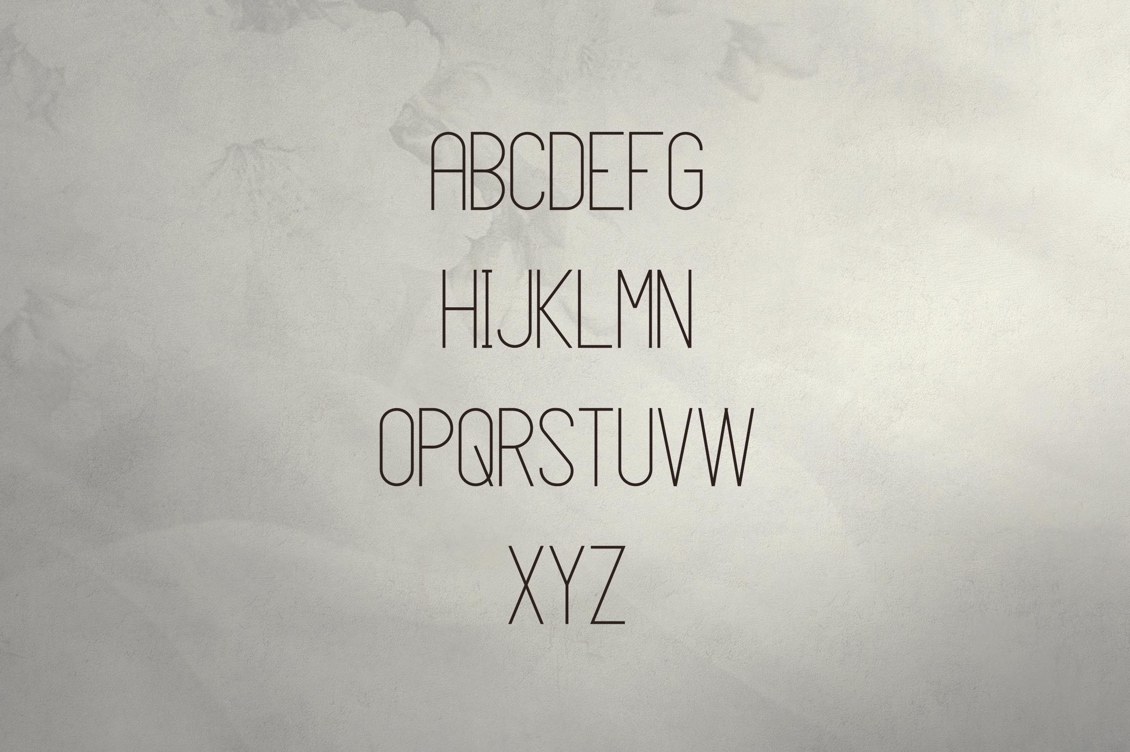 JaneDoe Sans Serif font example image 2