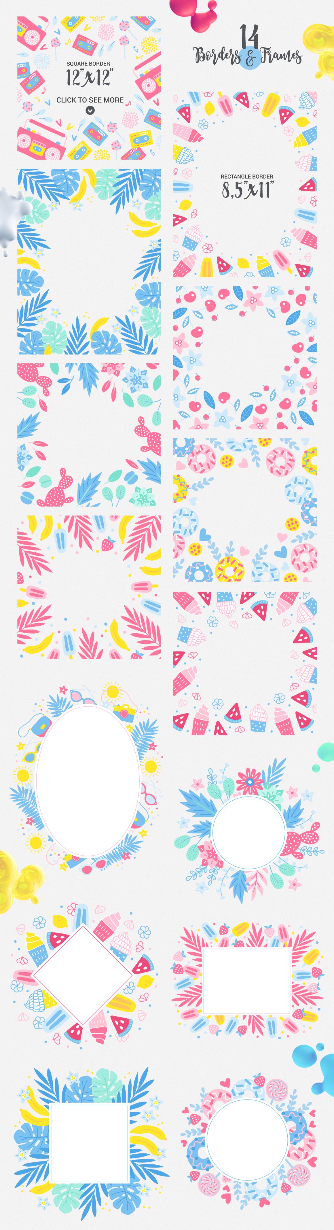 Punchy Pastels Kit example image 3