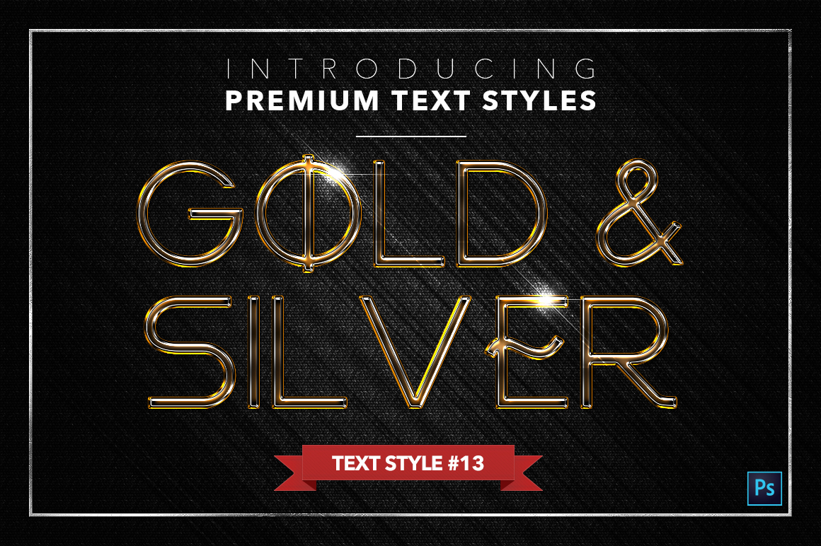 Gold & Silver #3 - 15 Text Styles example image 7
