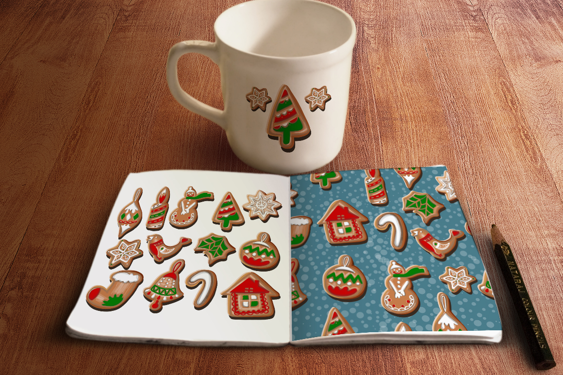 Christmas cookies set. example image 3