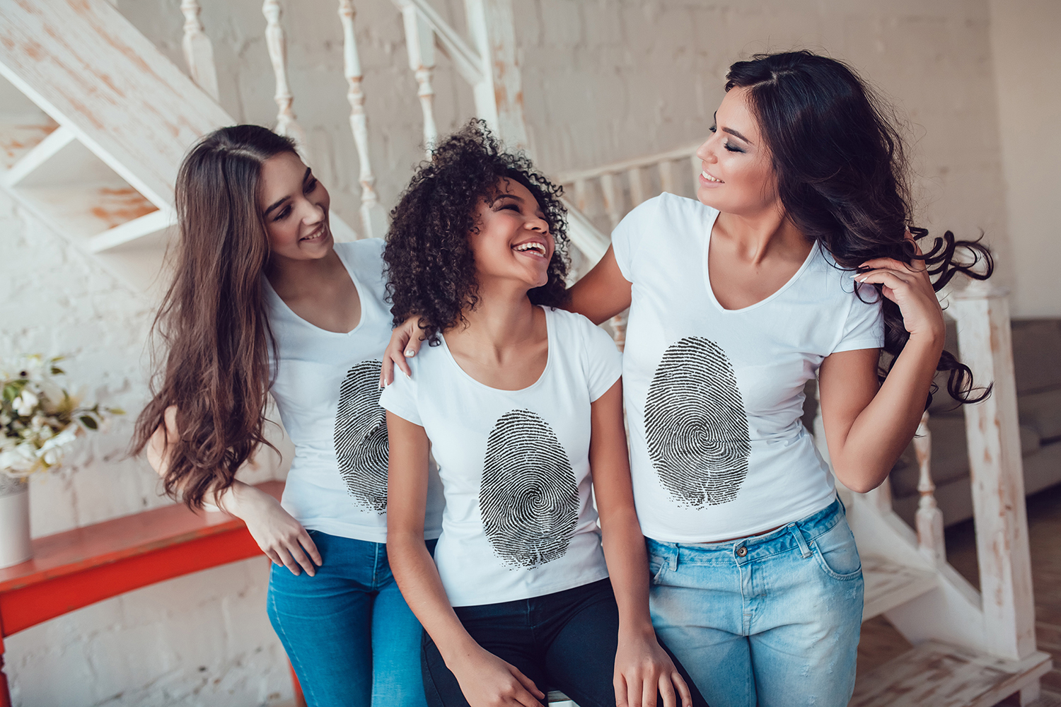 Women's T-Shirts Mock-Up Vol.1 2017 example image 8