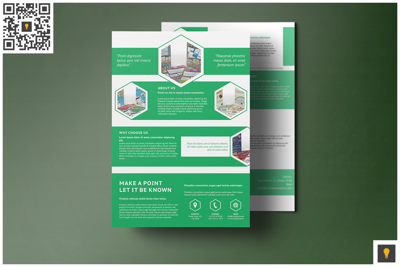Corporate Hive Print Bundle example image 9