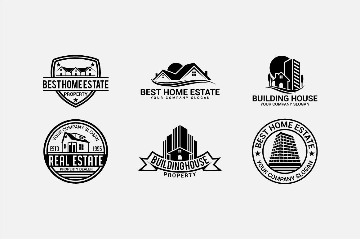 Real Estate Logo & Badges example image 7