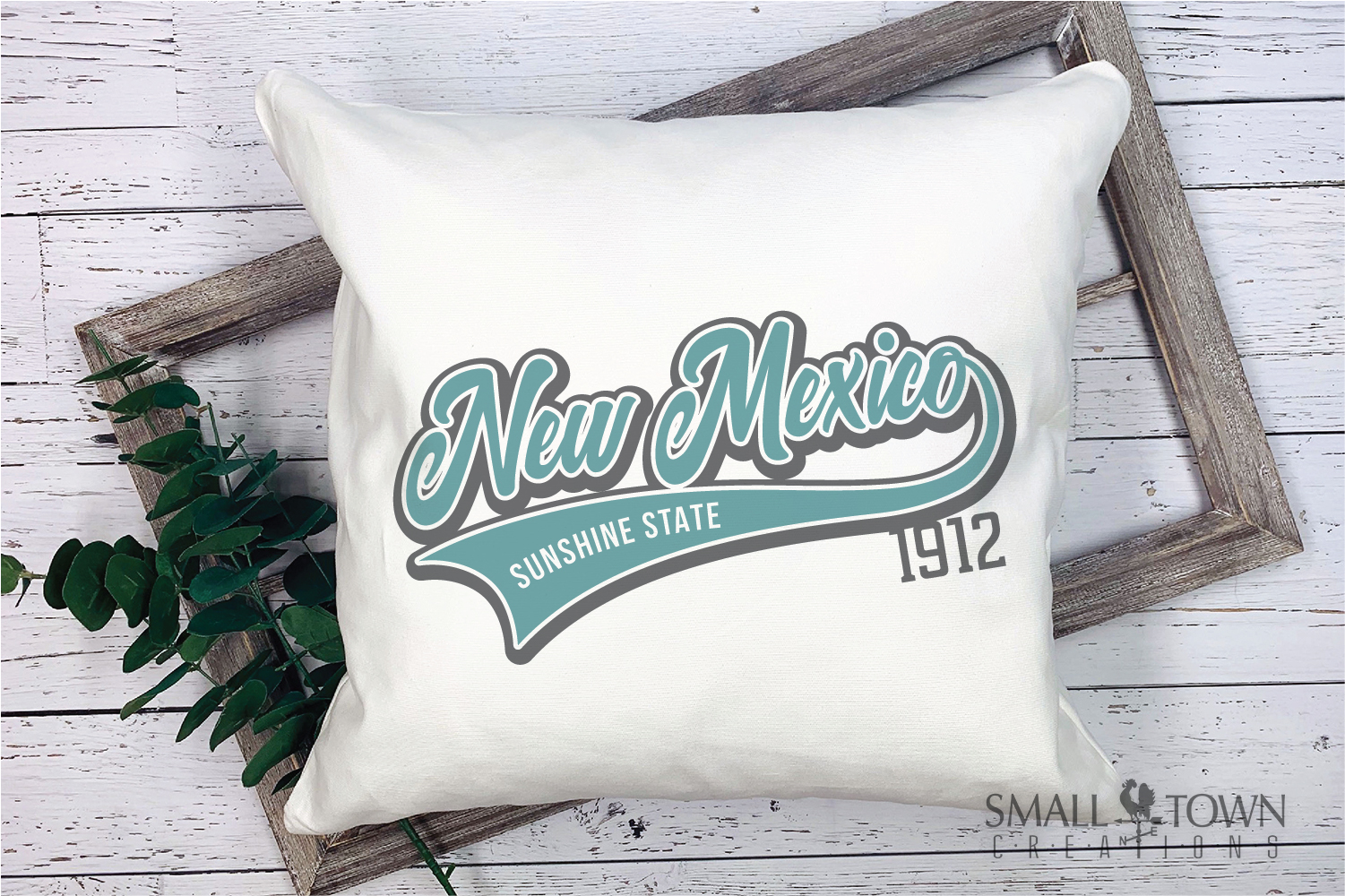 New Mexico, Sunshine State - slogan, PRINT, CUT & DESIGN example image 3