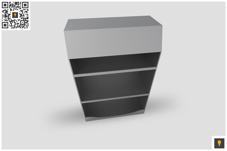 Promotional Shelf Display 3D Render example image 8