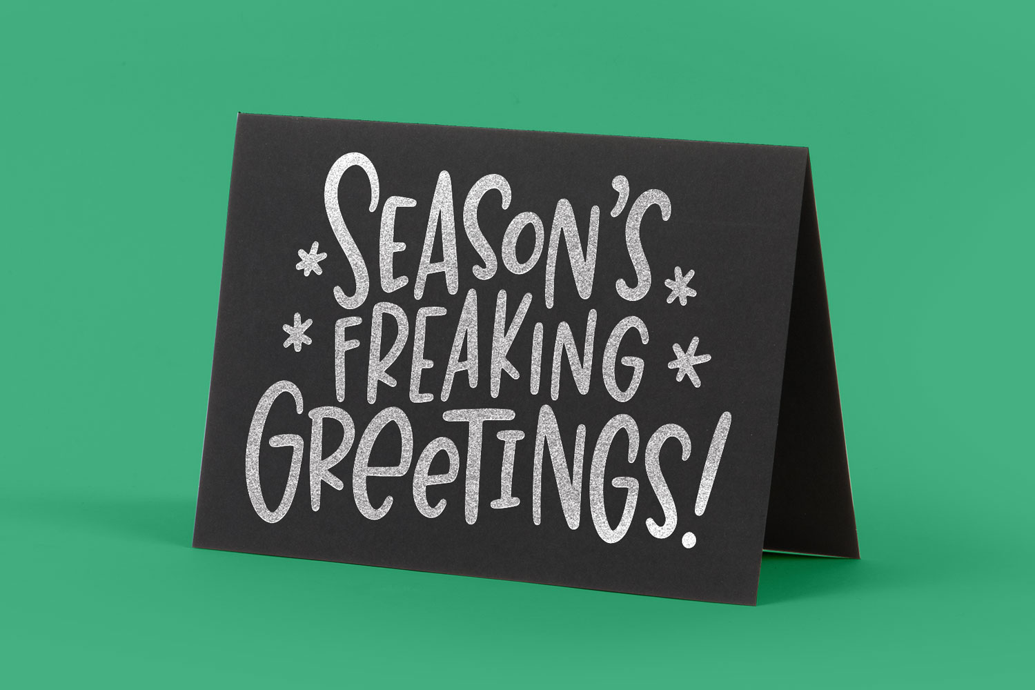 Rude Freaking Holiday Greetings - Christmas and Winter SVGs example image 2