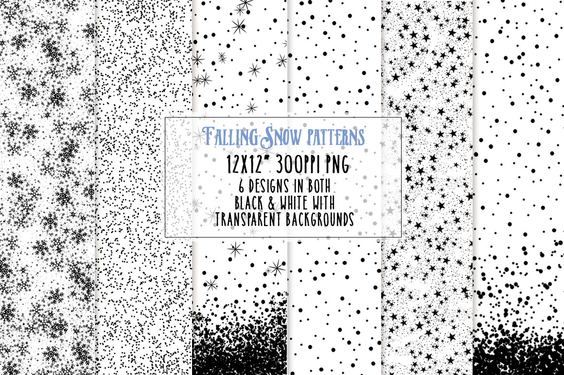 Falling Snow Patterns overlay preview