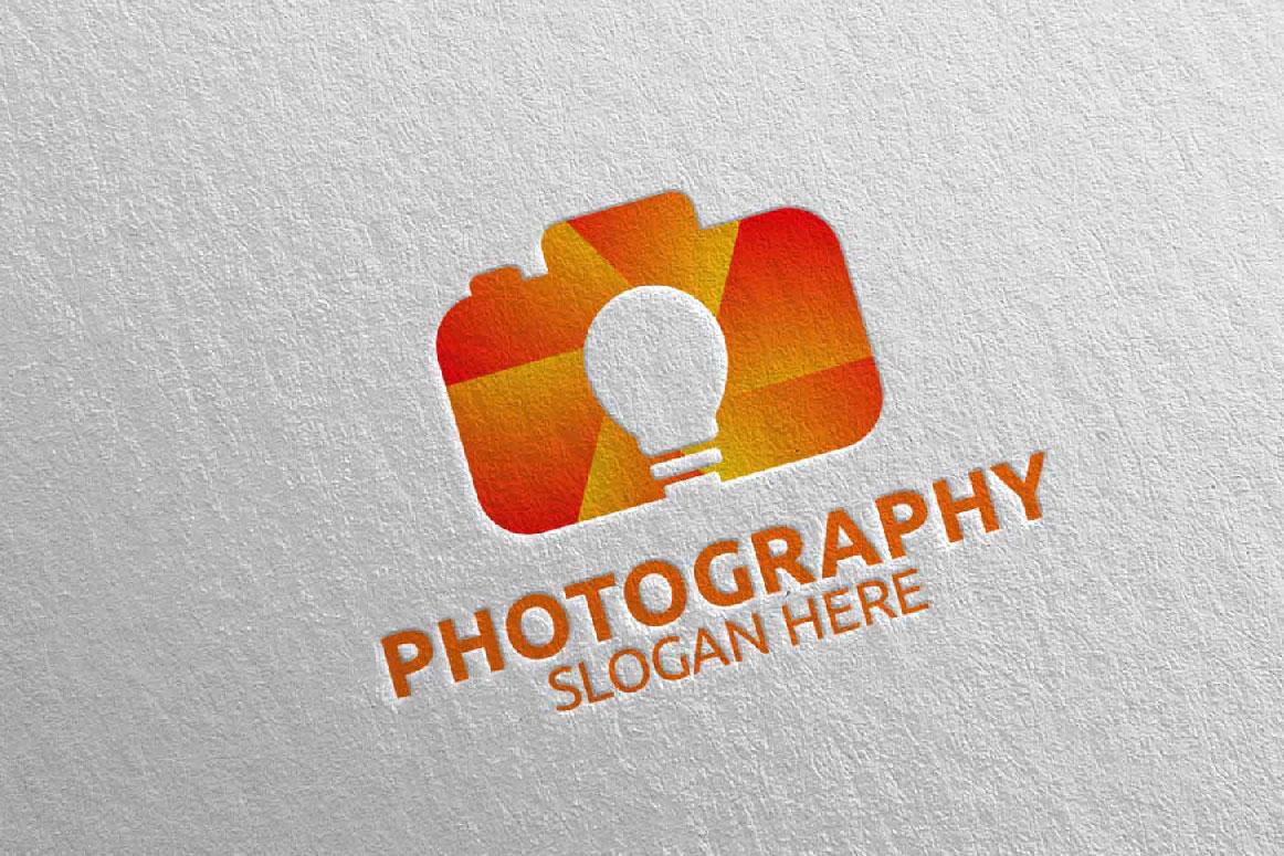 Abstract Camera Photography Logo 11 example image 5