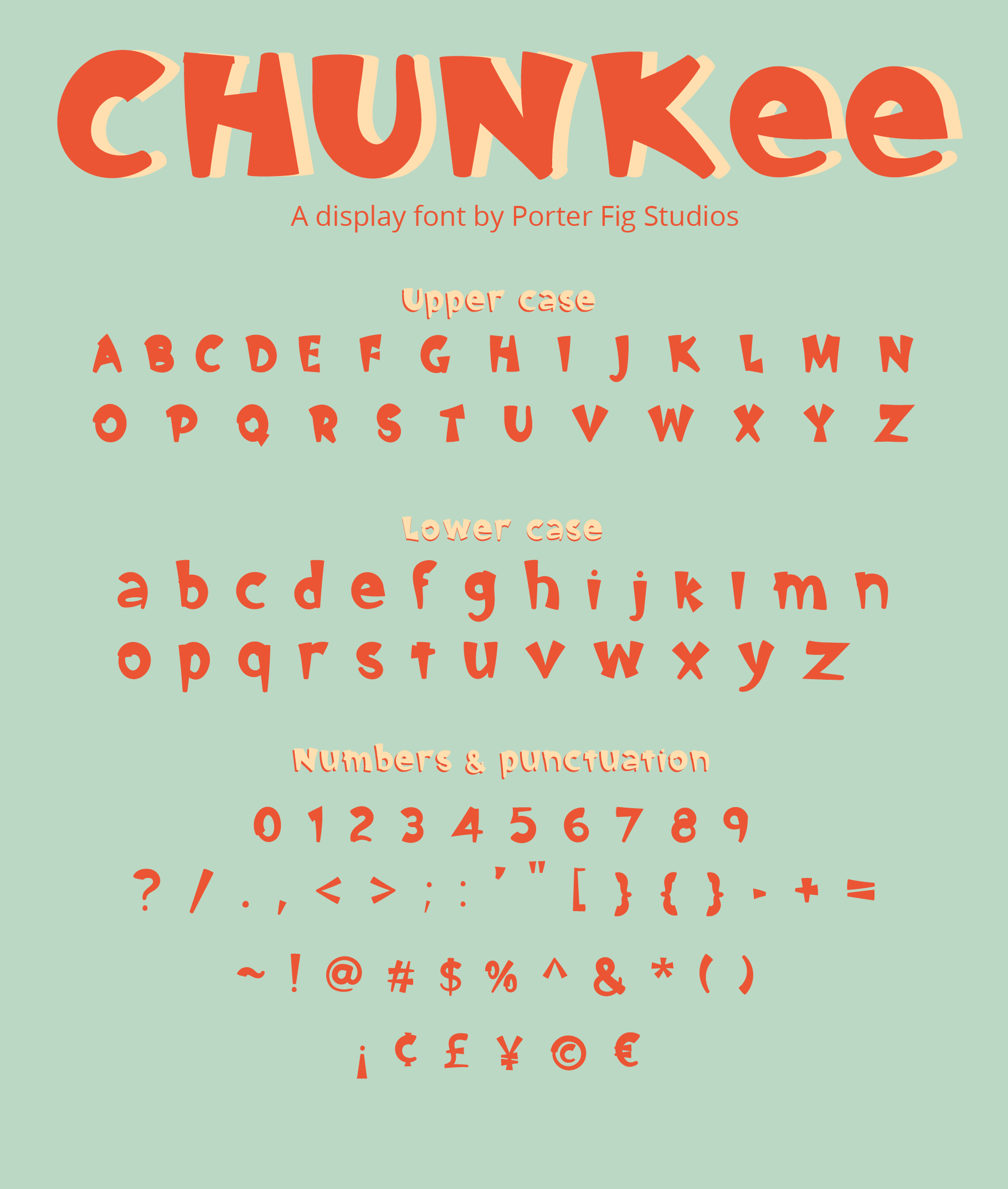 Chunkee Bold Handwritten Display Font example image 2