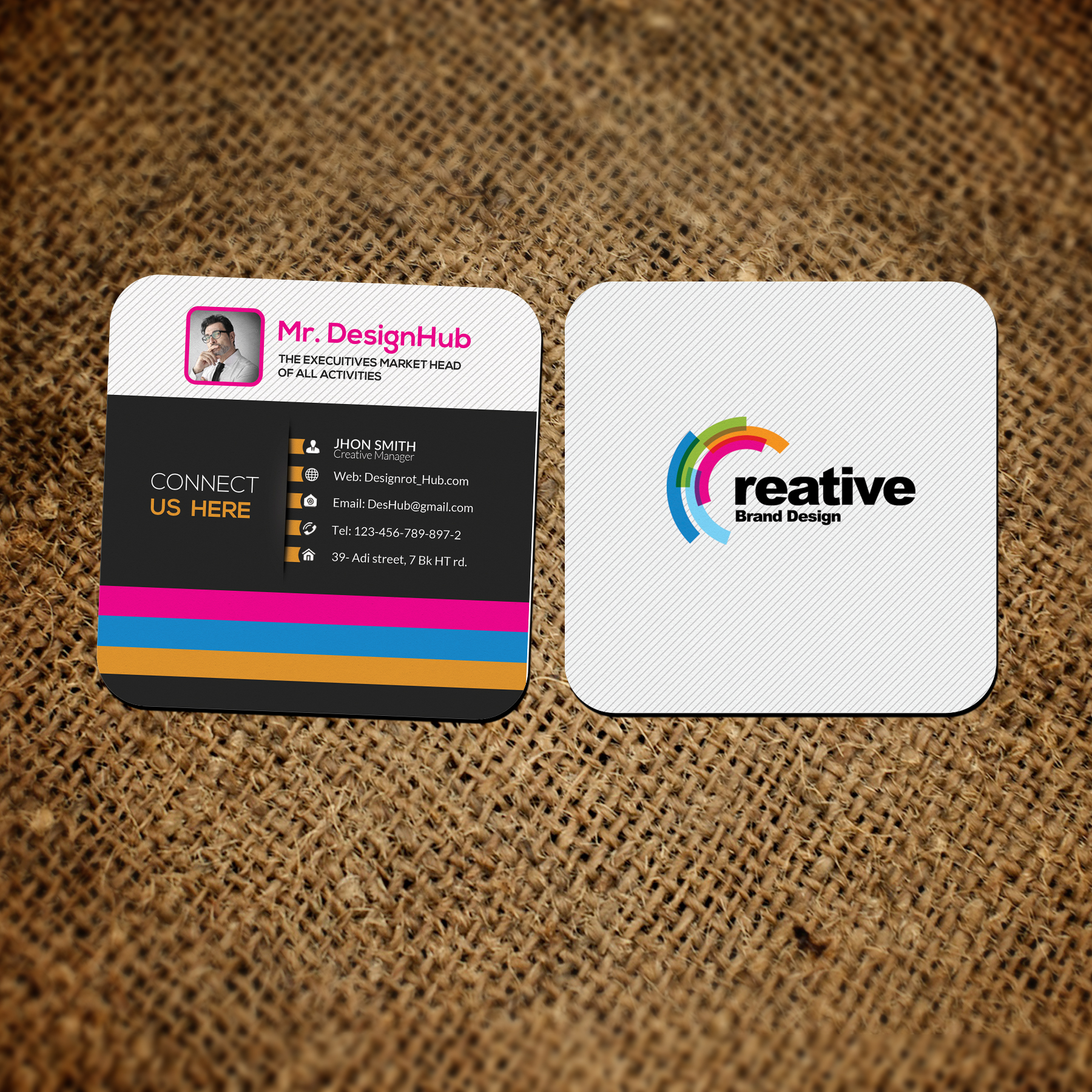 Mini Square Social Cards example image 3