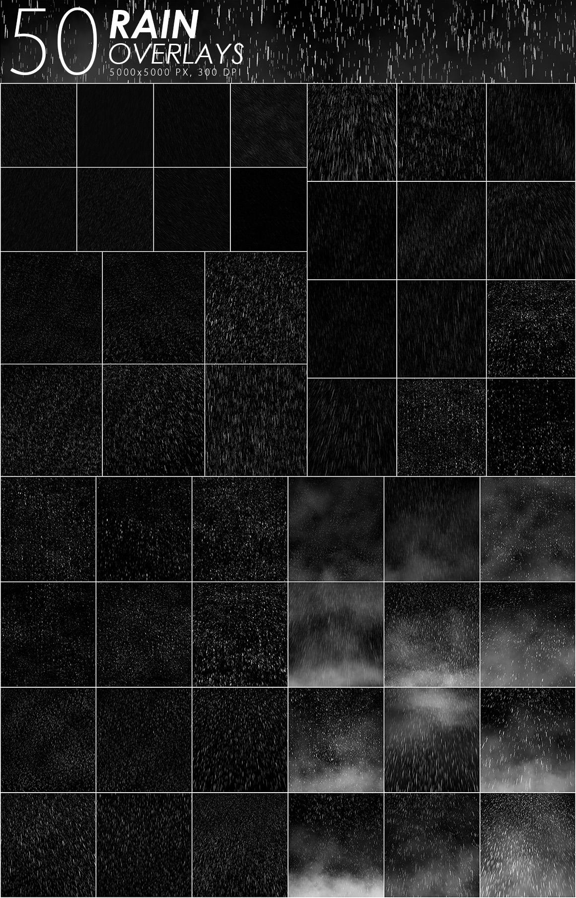 525 Rain, Snow, Lightning Overlays example image 3