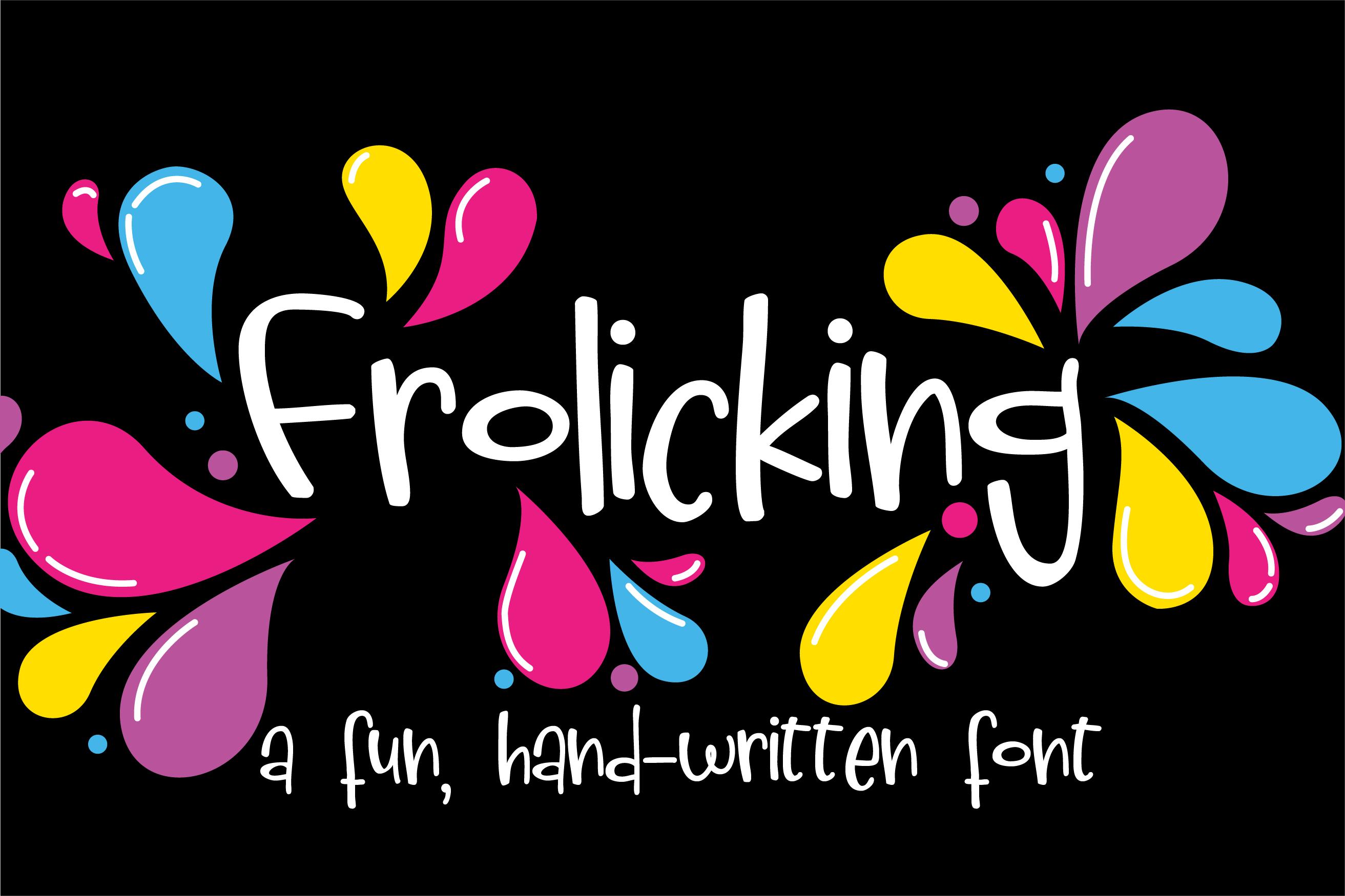 PN Frolicking example image 1