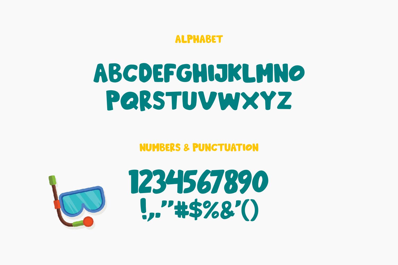 Beachday - Fun Display Font example image 4