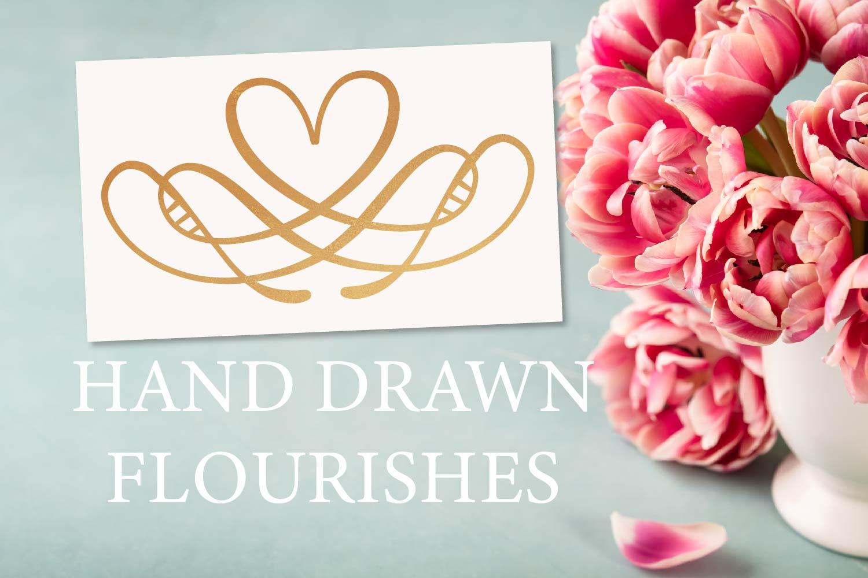 Hand Drawn Flourishes  example image 1