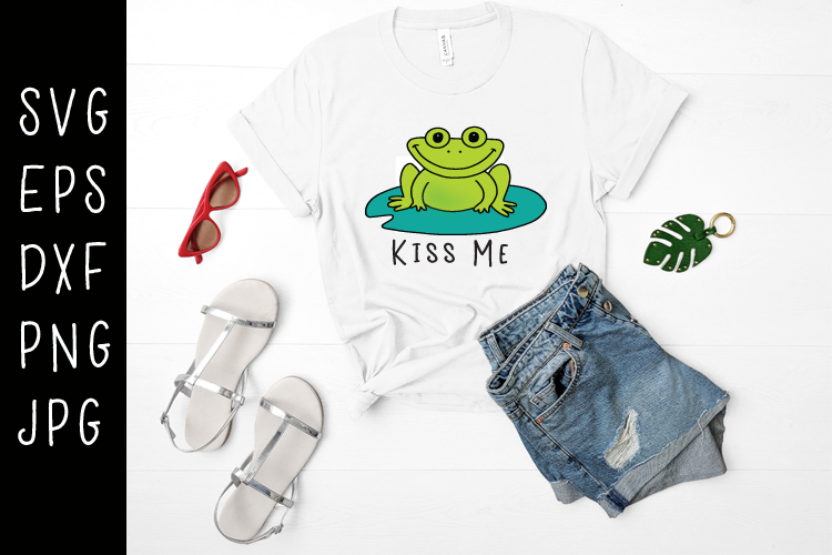 Frog SVG example image 1