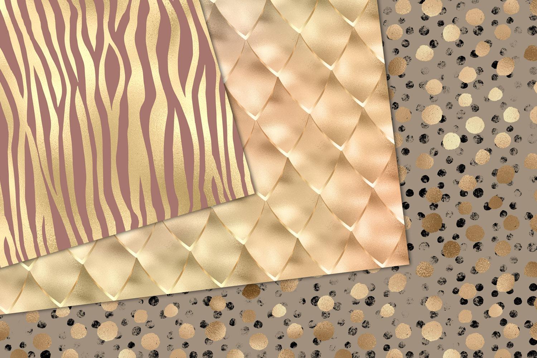Shimmer Animal Print Digital Paper example image 2