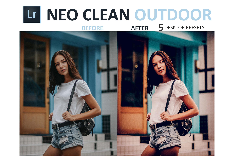 Neo Clean Outdoor Desktop Lightroom Presets example image 9