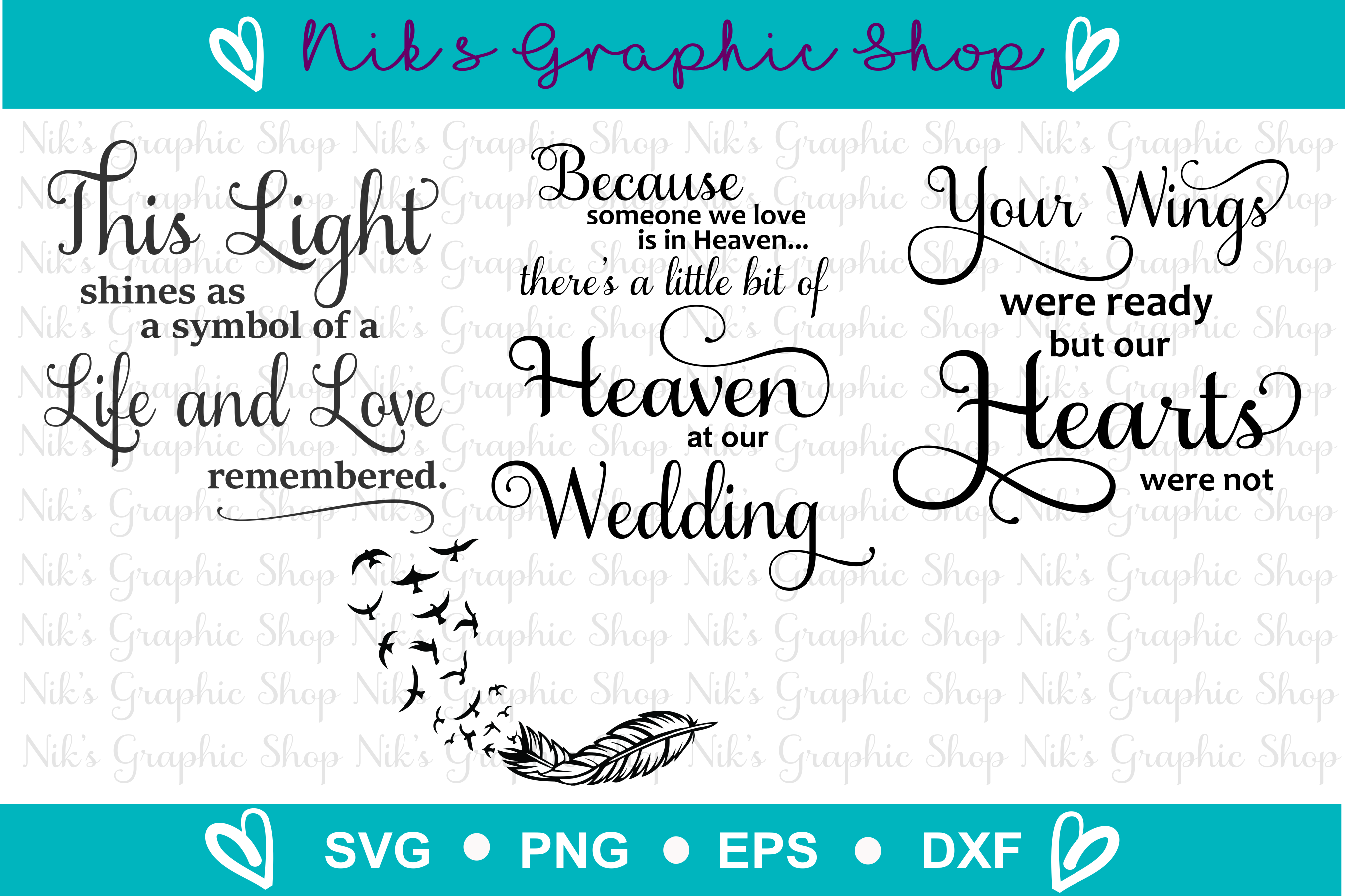Lantern Svg, This Light Svg, Loving Memory Svg, Wedding Svg example image 2