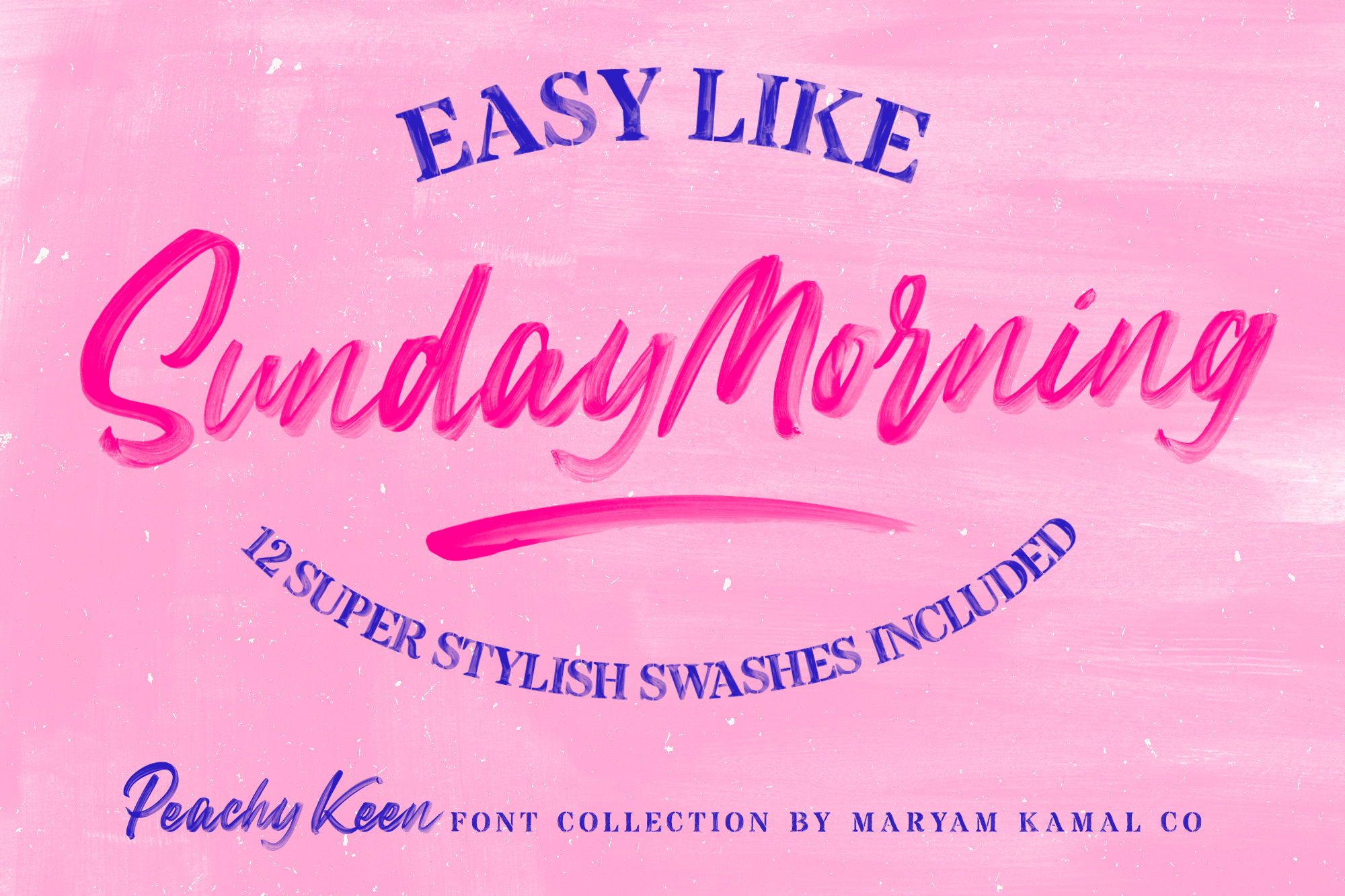 Peachy Keen Font Collection example image 15