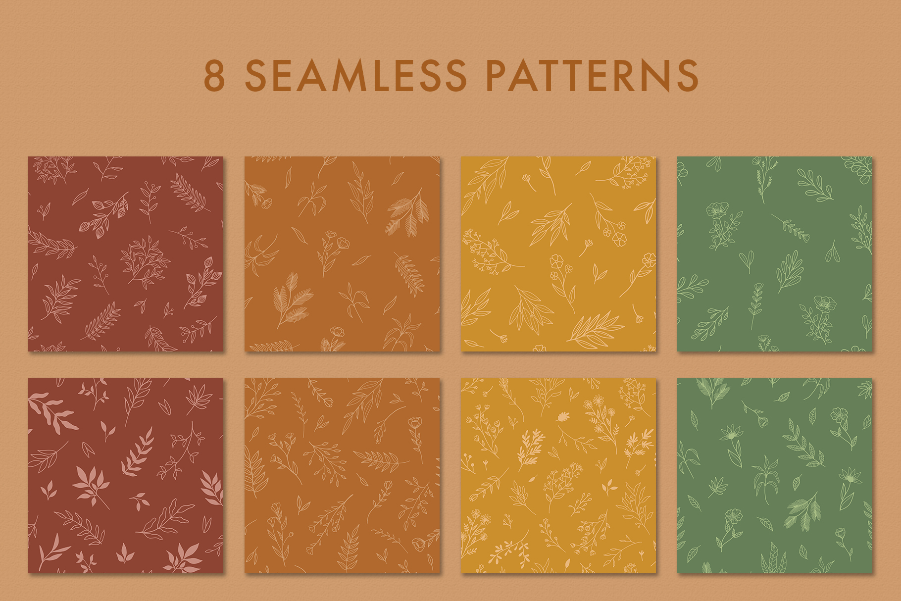 Floral Vector Elements Volume 002 example image 13