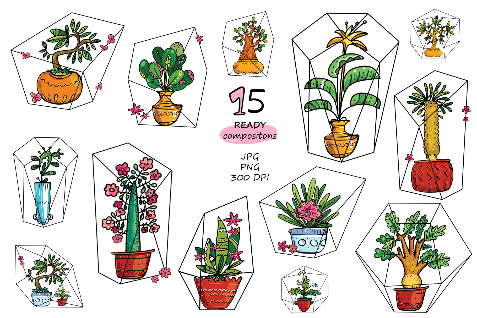 Exotic Home Plants - prints and cards example image 4