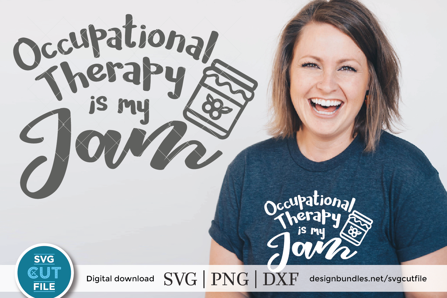 Occupational Therapy svg, Occupational Therapist svg, My Jam example image 1
