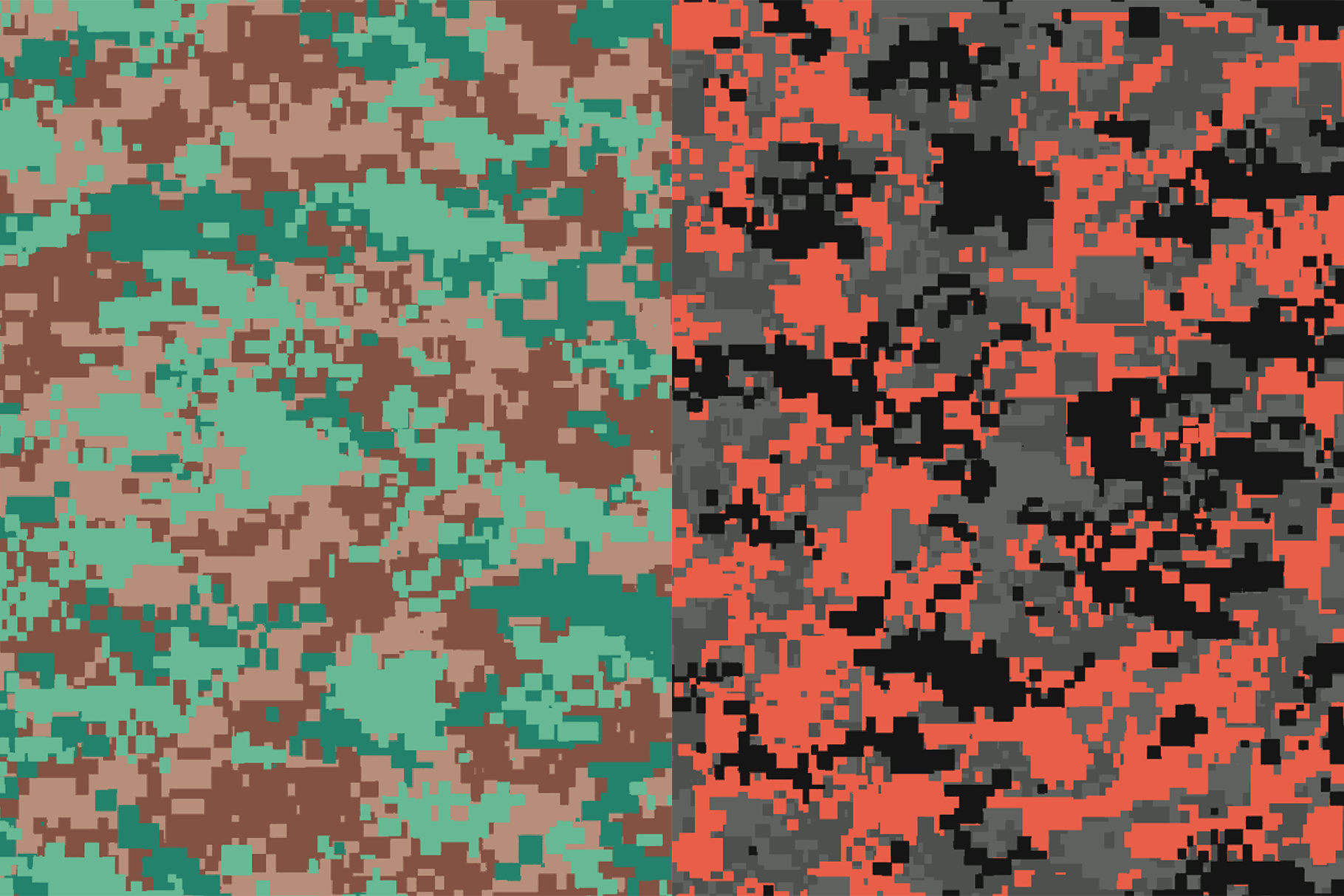 10 Pixel Camouflage Patterns example image 8