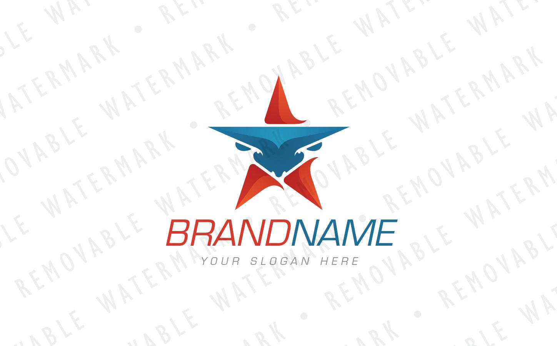 Bull Star Logo example image 2