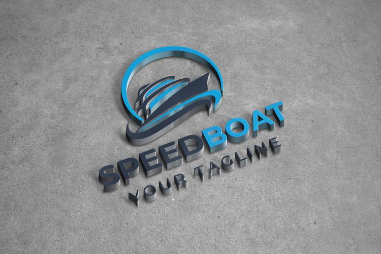 Speed Boat Logo Design example image 2