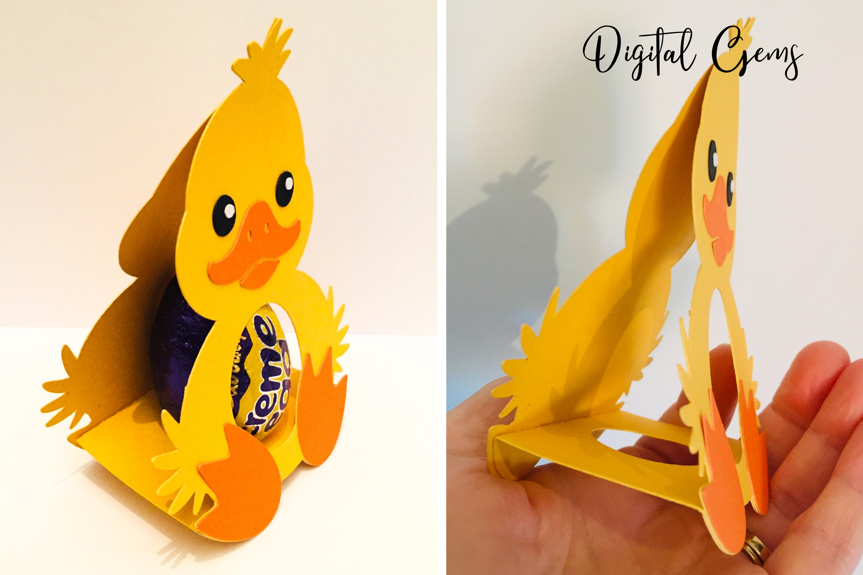 Animal egg holder designs Duck, Rabbit, Penguin and Lamb example image 5