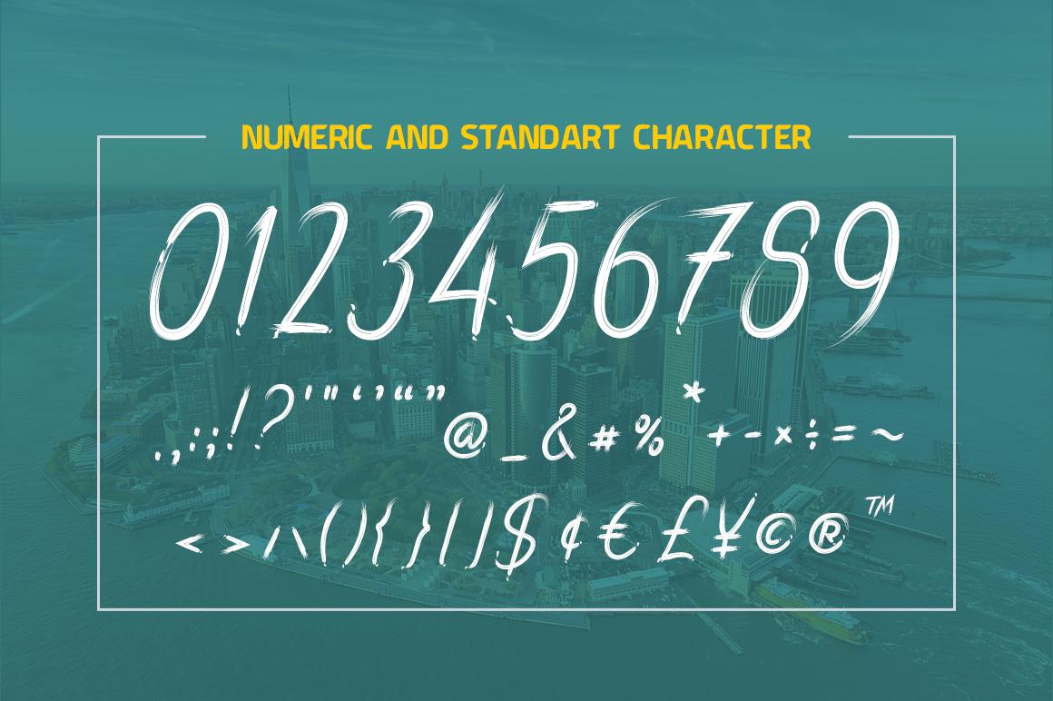 Dark Script Font example image 11