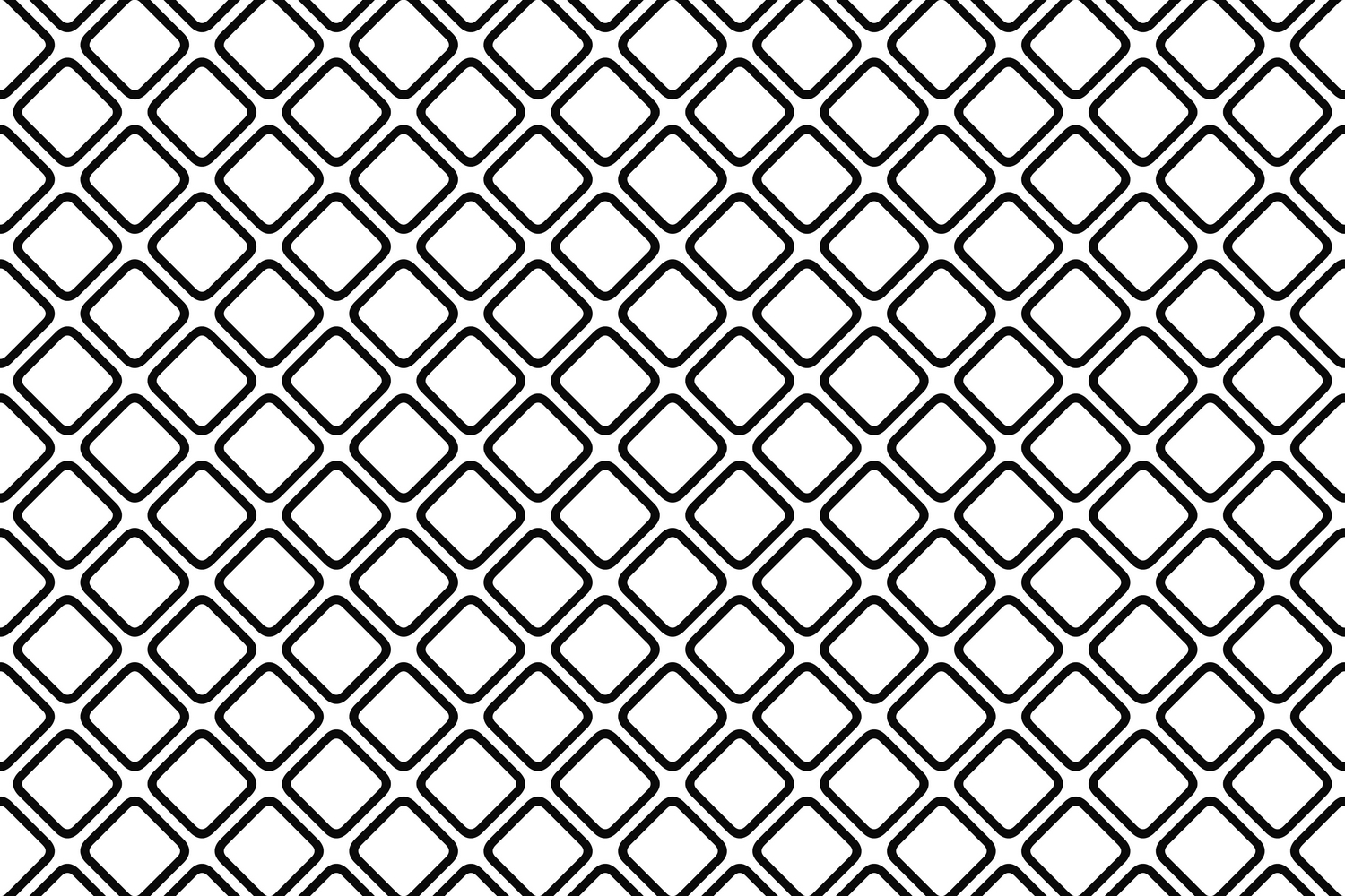 75 Monochrome Geometrical Patterns AI, EPS, JPG 5000x5000 example image 9