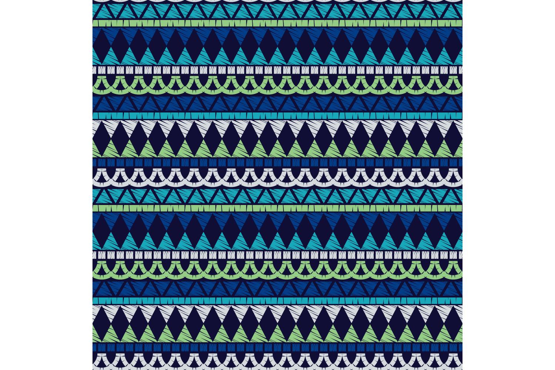 Ethnic boho ornament. Set of 10 seamless patterns. example image 2