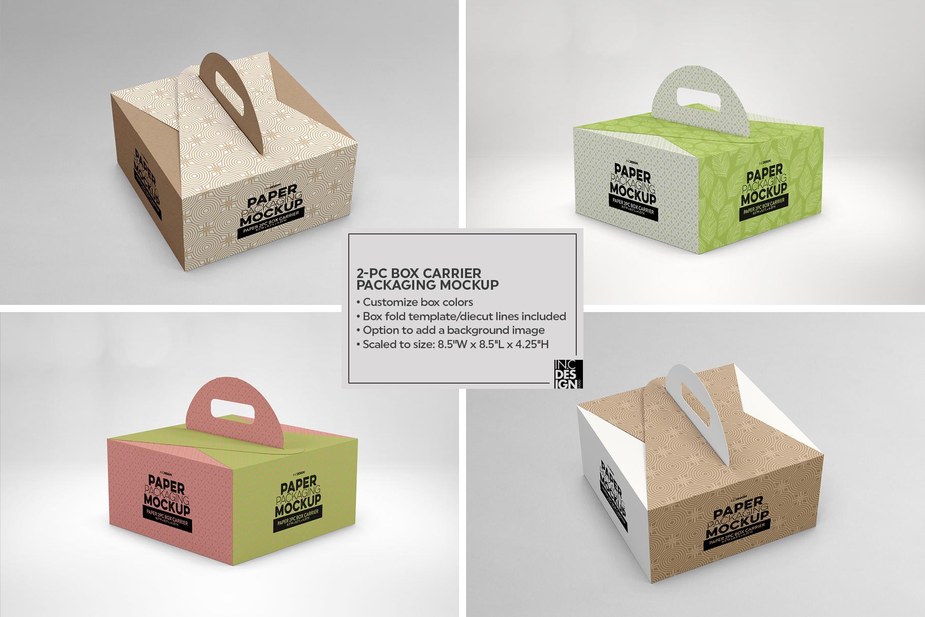 VOL. 17 Paper Box Packaging Mockups example image 13