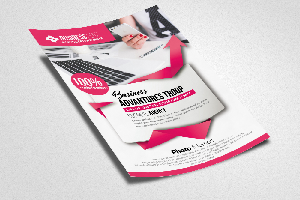Advertising Company Flyer example image 2