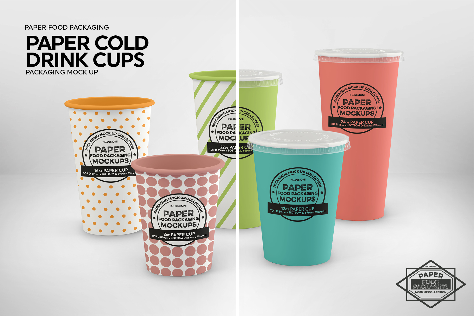 Paper Drink Cups Packaging Mockup example image 4